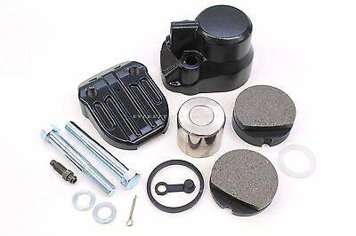 Complete Front Brake Caliper Kit Assembly CB 350 360 400 450 500 550 #H167