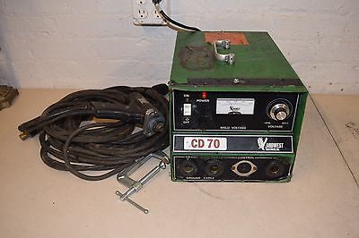 Midwest Fasteners Cd 70 Capacitor Discharge Cuphead Stud Welder W Accessories