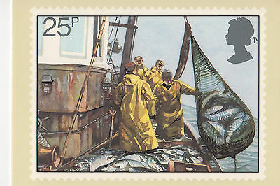 GREAT BRITAIN - FISHING - PHQ55(d) - 1981