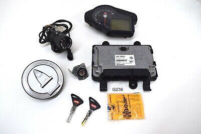 Aprilia RSV4 RK 2010 Without APRC Lock Set ECU Ignition Box Speedometer Cockpit