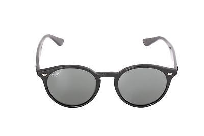 NEW Ray Ban Highstreet Asian Fit RB2180F 601/71 51mm Black Gray Lens (Ray Ban Apparel)