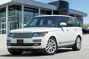 2015 Land Rover Range Rover 5.0L|V8 Supercharged|LEATHER|MERIDIAN SYS|NAVI
