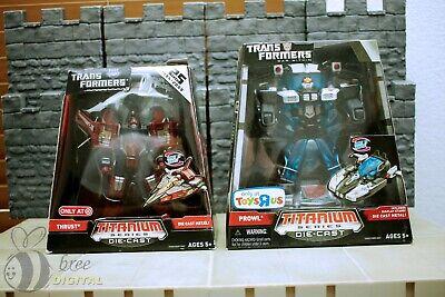 Transformers Titanium Series Lot Prowl TRU exclusive Thrust Target exclusive](Wholesale Transformers)