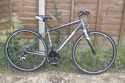 Men's Ladies Unisex Cannondale Quick Four 4 Hybrid Town Bike Medium 45cm Frame