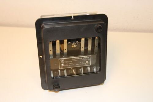 GENERAL ELECTRIC GE 12HFA151A9F TYPE HFA AUXILIARY RELAY 120V