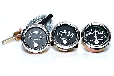 Ford Tractor 2n 8n 9n Naa 601 70 801 901 2000 4000 Amp Oil Temp Gauge Set
