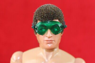 Vintage action man green Panzer goggles 40th