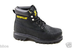 WOMENS CATERPILLAR CAT COLORADO LEATHER CLASSIC WORK ANKLE BOOTS SIZE 3-8 NEW
