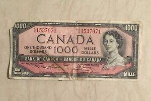Billet de 1000$