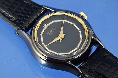 Vintage Seiko Quartz Ladies Watch SYY341J Circa 1980 New Old Stock NOS Imaculate