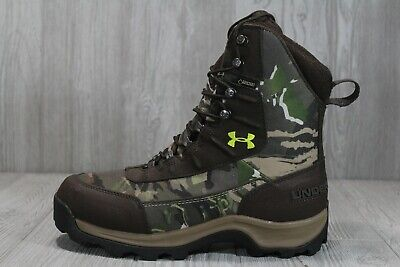48 Under Armour Brow Tine Gore-Tex Camo Hunting Boots Mens Sz 8 1240080 944