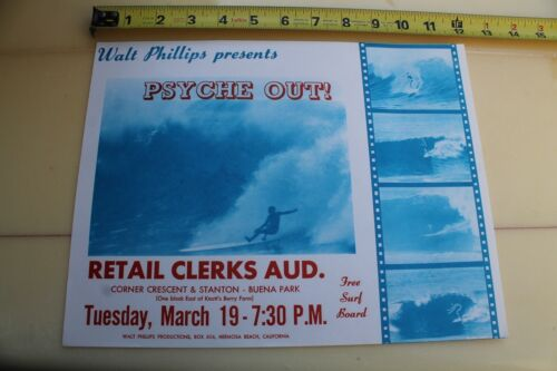 PSYCHE OUT Walt Phillips Surfing Film 1960