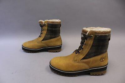 Timberland Men's Lace-Up Spruce Mountain Boots MC7 Wheat Full-Grain 6900B Size -