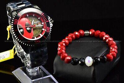 Bead Bracelet Handmade Jewelry Matching Invicta Deadpool 27153 Bracelet only
