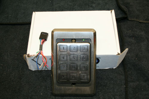 Essex 26bit Wiegand Stainless Electronic PIN Keypad Access Control Security