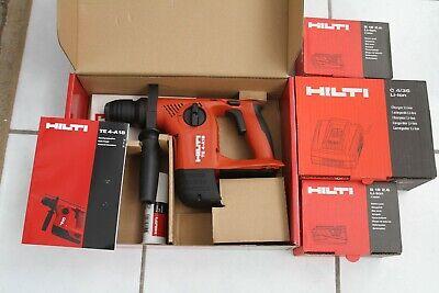 Hilti Te4-a18 18-volt Cordless Rotary Hammer Drill New W 2 Batteriescharger