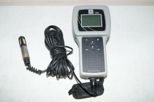 ^ YSI 550A Dissolved Oxygen Meter W/ Probe #C398