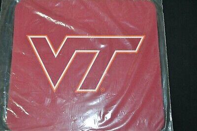 NIB Virginia Tech Hokies Logo Official NCAA Licensed Product Red White USA - Virginia Tech Hokies Merchandise