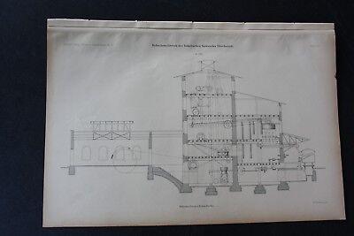 1903 Stich Bergbau / Rohsalzmahlwerk Beienrode Königslutter 2