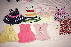 0-3 month baby girl clothing lot
