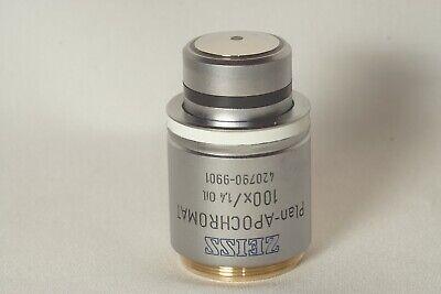 Zeiss 100x1.4 Plan-apochromat 420790-9901 M27 Microscope Lens