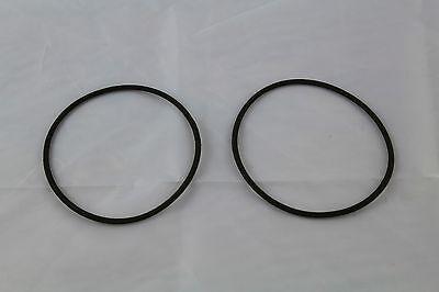 Seiten Abdeckung (2 x Gummi Halter für Batterieabdeckung Seitendeckel BMW R 100 90 80 75 60 50 neu)