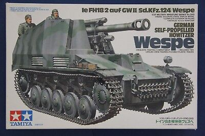 Tamiya MM200 1/35 Wespe Le FH18/2 auf GWII SdKfz.124 Self-Propelled -