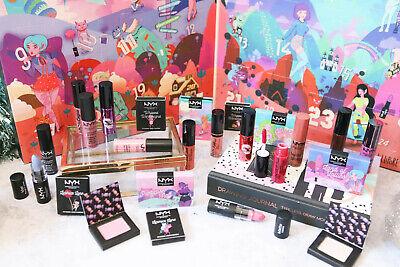 NIB NYX Sugar Trip 24 Days of Beauty Advent Calendar Blush Eyeshadow LIp Cream