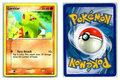 Larvitar 62/109 Team Rocket Returns Pokemon Card P Condition