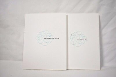 Company Birthday Cards (TIFFANY & CO WELCOME TO THE WORLD THIS IS YOUR DAY WHITE BLANK GREETING)