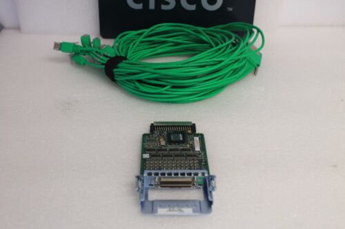 Cisco HWIC-16A 16 Port High Speed WAN Interface with CAB-HD8-ASYNC