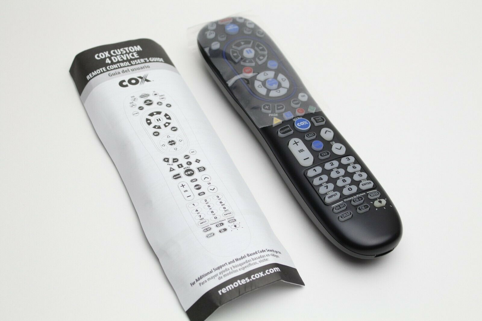 Cox Cable 4 Device Universal Remote Control URC 8820 CISCO