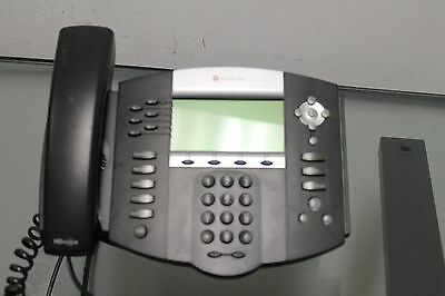 Polycom 2201-12630-001 Soundpoint Ip 650 Voip Sip Telephone - No Power Supply