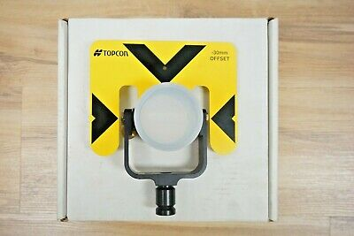 Topcon Single Tilting Prism 0-30 Off Set Pn 51918k Total Station Prism
