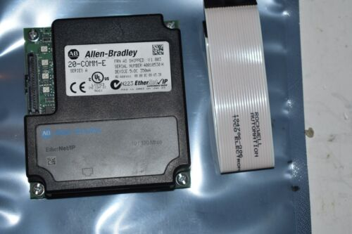20-COMM-E ALLEN BRADLEY ETHERNET COMMUNICATION MODULE