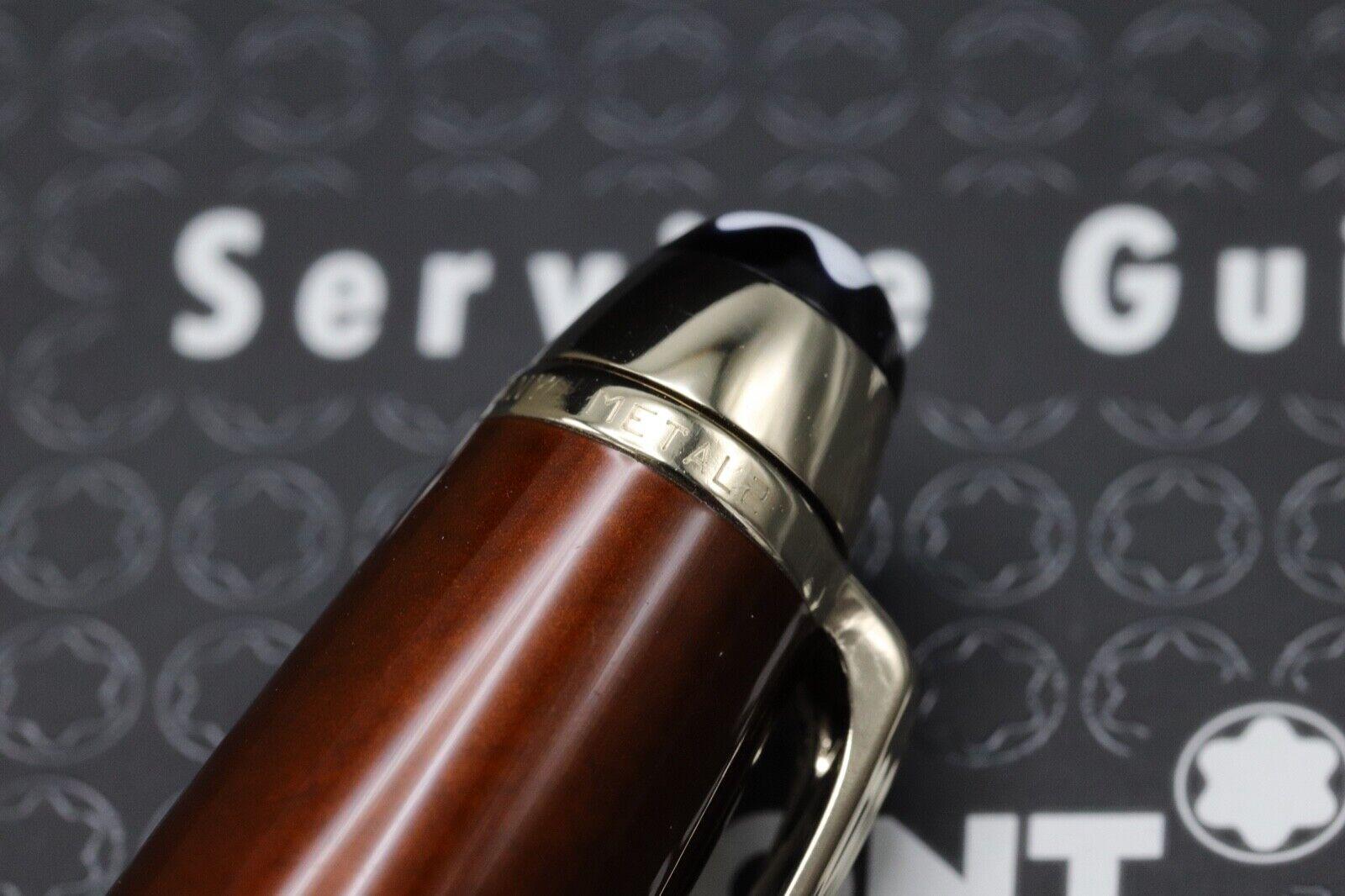 Montblanc Meisterstuck 163 Classique Solitaire Citrine Rollerball Pen 4