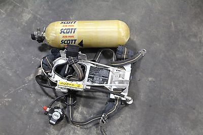 Scott 4.5 Air Pack Harness Scba With Tank And Mask