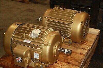 New Baldor 20 Hp Motor 3520 Rpm Fame 256t Tefc 230460v