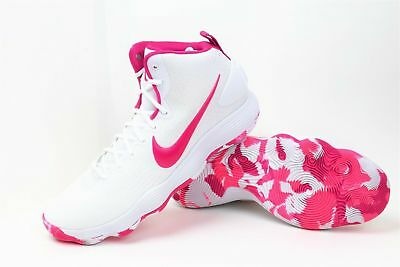 456058b72ebb Nike Hyperdunk Think Pink Kay Yow Breast Cancer Basketball 897631-100 SZ 14