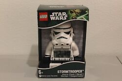 LEGO Star Wars Storm Trooper Moveable Minifigure Alarm Clock NEW