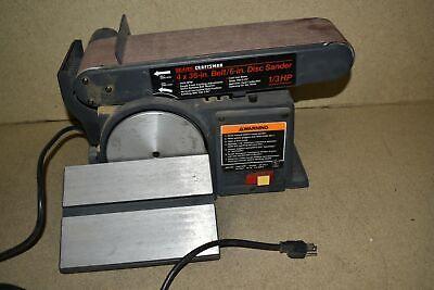 Re Sears 4 X 36 Model 113-226431 Disc Sander Mc26