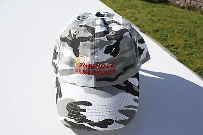 Ball Cap Hat   Enbridge Sunday Creek Oil Hunting Camouflage Alberta  H1670