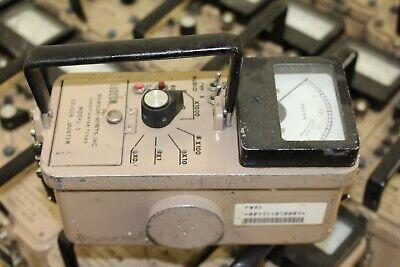 Ludlum Model 5 Survey Meter