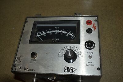 Associated Research Inc Meg-chek Model 2100a Megohmmeter Yr144