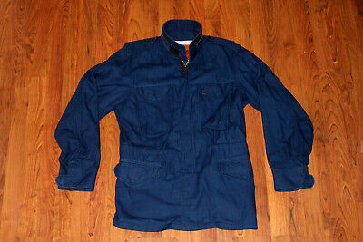 Han Kjobenhavn M65 Field Jacket Indigo Blue Slim Fit Size Large MSRP $615 USD , used for sale  Toronto