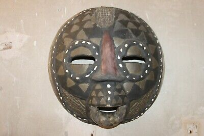 Mask Moon, Mask African 50s 60