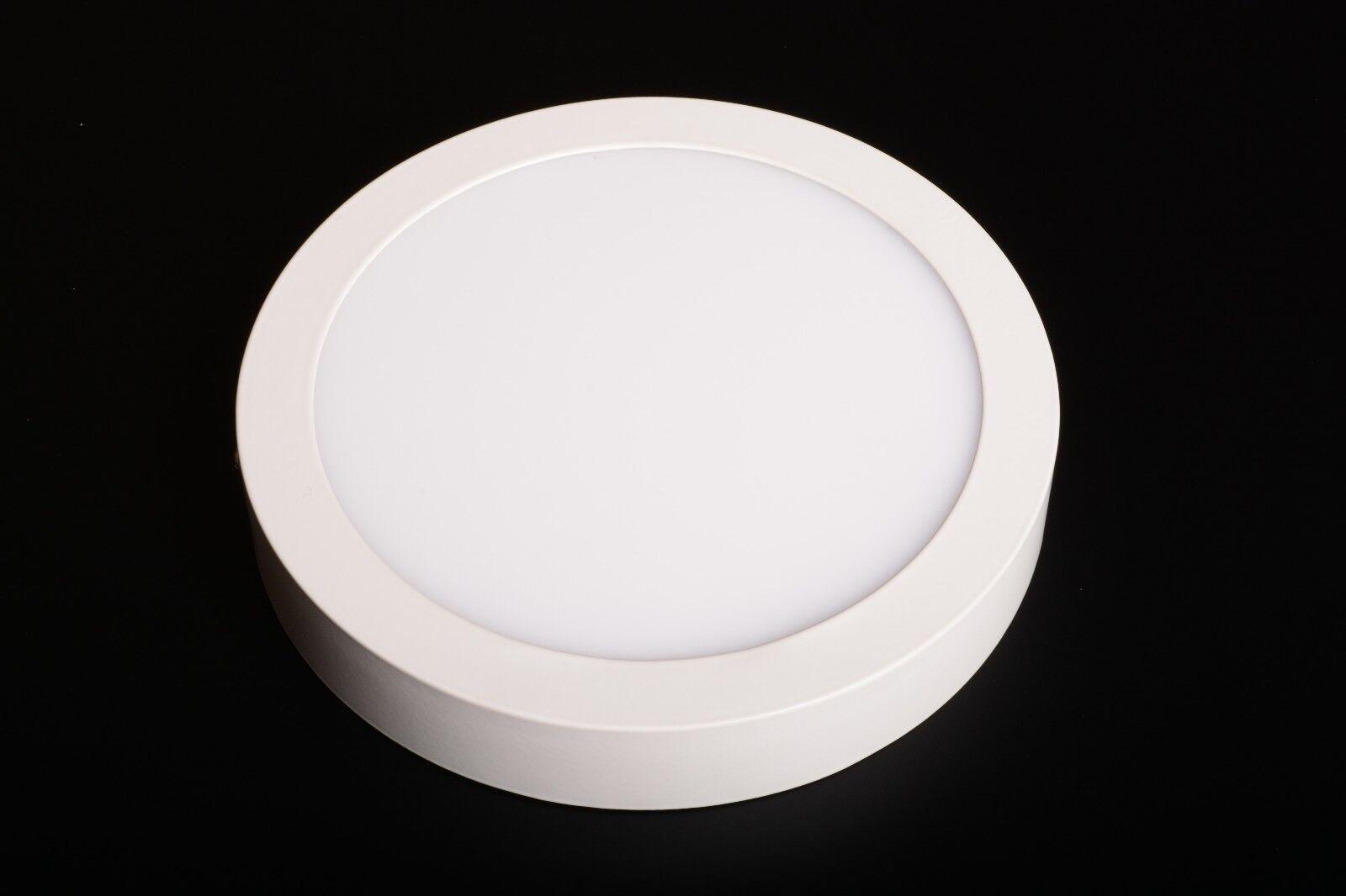 Faretti Led Da Soffitto : Faretto led da soffitto parete plafoniera w rotondo mm bianco
