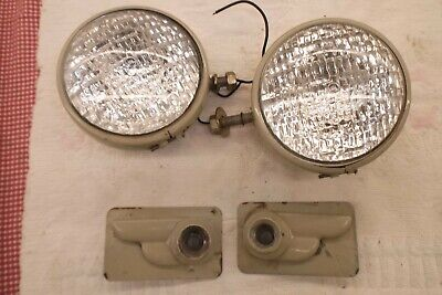 Ford 8n-9n-naa Jubilee Tractor Headlights With Wings