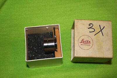Leitz Ultropak Lens Spuo 3l60 For Ortholux Microscope With Ultropak Illuminator