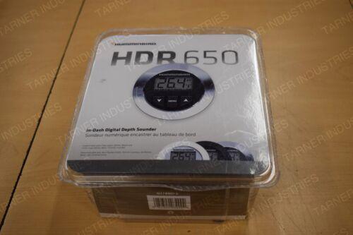 Humminbird HDR650 Depthfinder With TM Ducer And B And W Bzl Dash 407860-1 Dash